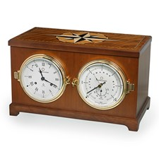 Columbus Nautical Clock and Barometer