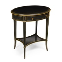 Oval Side Table