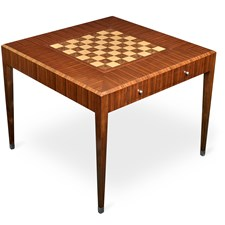 Rosewood Rotating Game Table