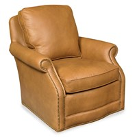 Cleveland Swivel Chair, Brown