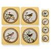 Yellow Songbird Table Mats and Coasters