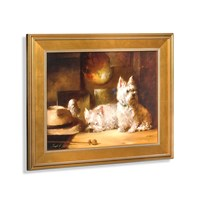 Westies in the Studio Giclee