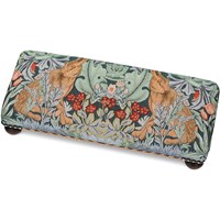 Morris Hares Tapestry Footstool, Large