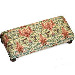 Vines Tapestry Footstool, Large