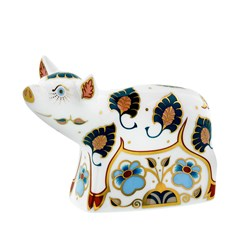 Royal Crown Derby Piglet Paperweight