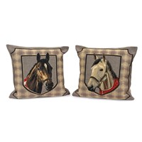 Horse Head Tapestry Pillows