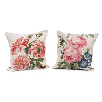 Roses of Bourbon and Orleans Tapestry Pillows