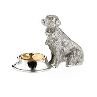 Silverplated Dog Salt Cups