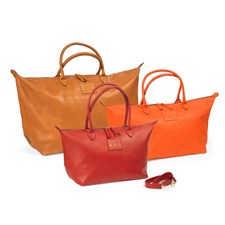 Large Leather Safari Bags