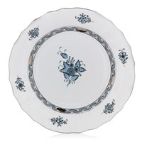 Herend Chinese Bouquet Porcelain, Turquoise