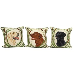Dog Needlepoint Pillows