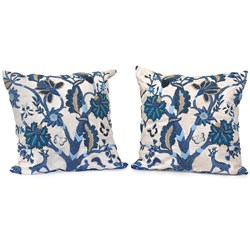 Blue Tree of Life Pillows
