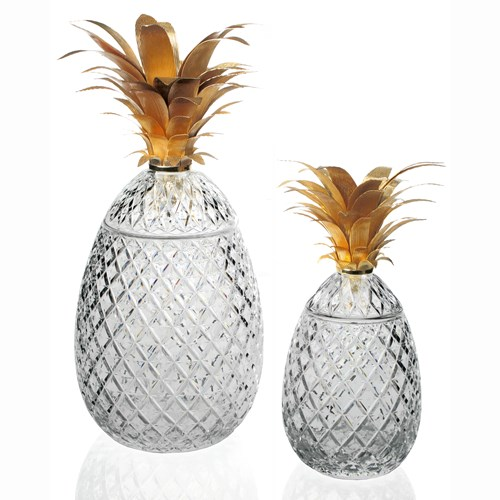 William Yeoward Isadora Pineapple Centerpiece, Limited Edition