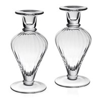 William Yeoward Crystal Lydia Pair of Candlesticks