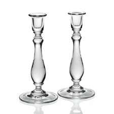 William Yeoward Crystal Meryl Candlesticks