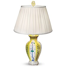 Herend Yellow Dynasty Lamps, Special Edition