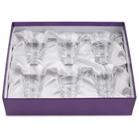 William Yeoward Crystal Suki Gift Box of 6 Shot Glasses