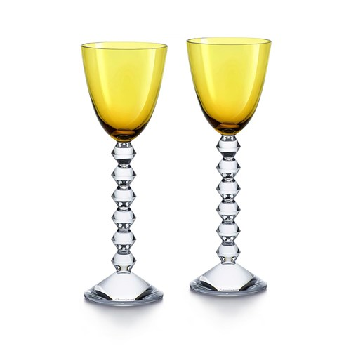 Baccarat Vega Wine Rhine Glass Collection, Set of 2