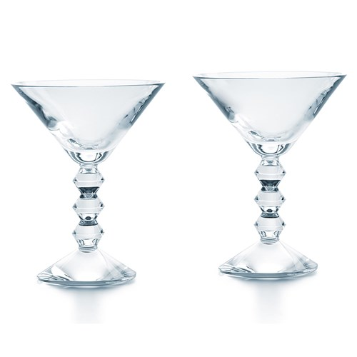 Baccarat Véga Martini Glass, Set of 2