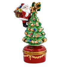 Christmas Tree Limoges Box