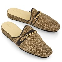 Women's Victoria Leather Slippers