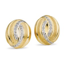 18k Gold Florentine Earrings