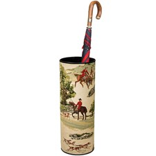 The English Hunt Tapestry Umbrella Stand
