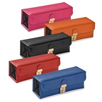 Italian Leather Saffiano Jewelry Cases