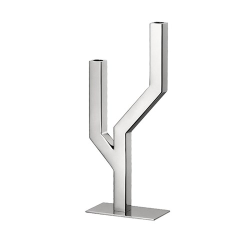 Christofle Arborescence Stainless Steel Candelabra Collection