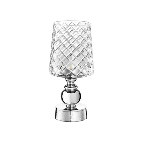 Christofle Jardin d'Eden Stainless Steel Candle Holder Collection