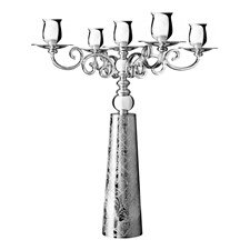 Christofle Jardin d'Eden Silverplated Candelabra for 4 Candles