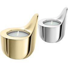 Christofle Céleste Brass & Silverplated 2 Votive Gift Set