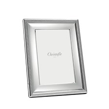 Christofle Perles Silverplated Picture Frames