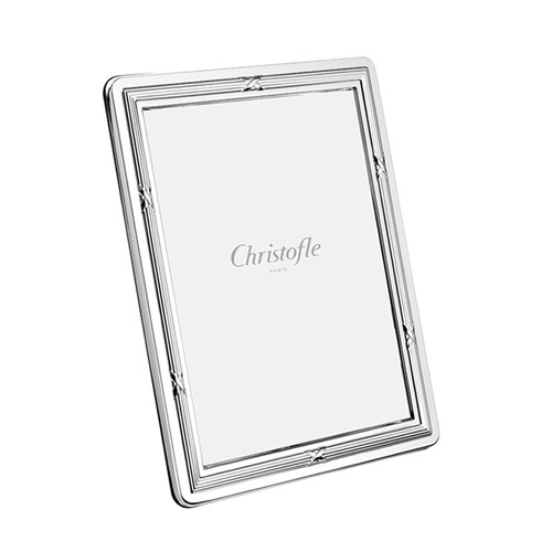 Christofle Rubans Silverplated Picture Frame Collection