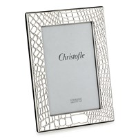 Christofle Croc D' Argent Silver Plated Picture Frame Collection