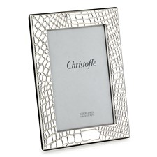 Christofle Croc d'Argent Silverplated Frames