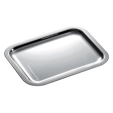 Christofle Albi Silver Plated Rectangular Trays