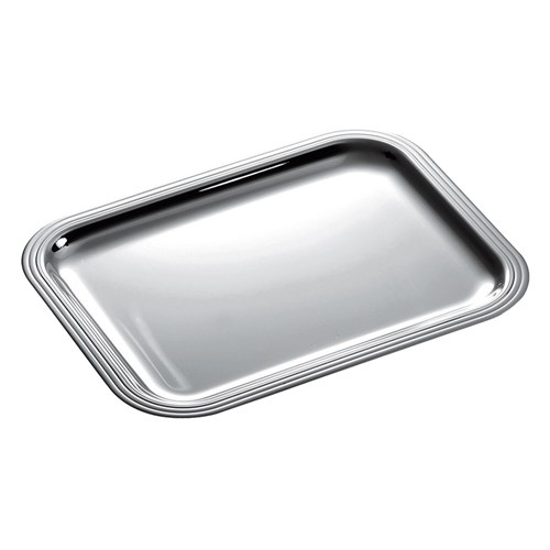 Christofle Albi Silverplated Rectangular Trays