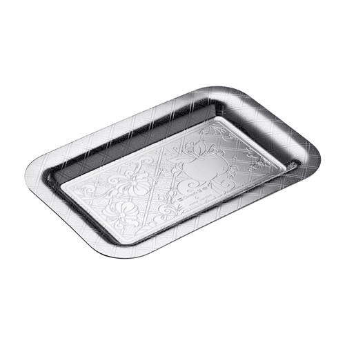 Christofle Jardin d'Eden Silverplated Trays