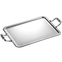 Christofle Malmaison Rectangular Trays WIth Handles