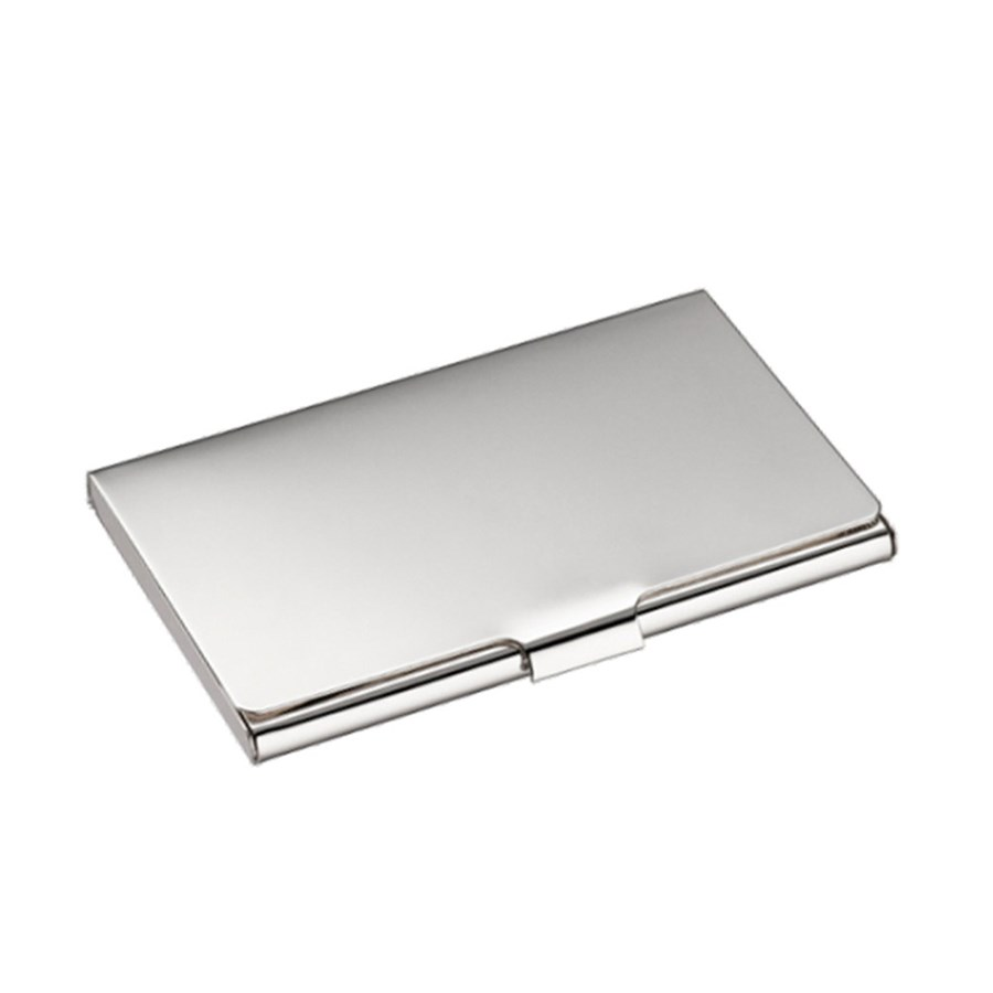 Christofle Uni Silver Plated Business Card Holder | Office ...