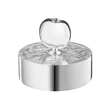 Christofle Jardin d'Eden Silverplated Paperweight