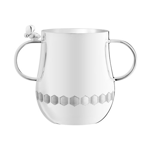 Christofle Beebee Silverplated Baby Cups