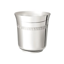 Christofle Malmaison Sterling Silver Baby Tumbler Cup