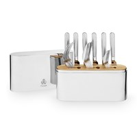 Christofle Concorde Stainless Steel 24- Piece Set
