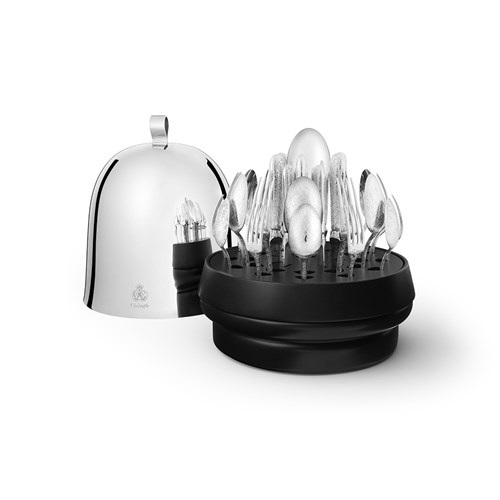 Christofle Ruche Jardin d' Eden Silverplated 38-Piece Set