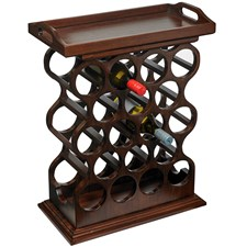 Mahogany Wine Rack