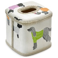 Dogs On Parade Tissue Box