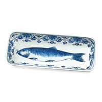 Royal Delft Handpainted Fish Dish