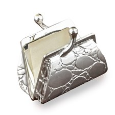 Sterling Silver Mini Handbag